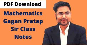 Gagan Pratap Maths Book PDF