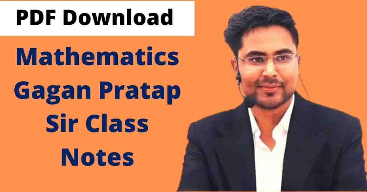 Gagan Pratap Maths Book PDF